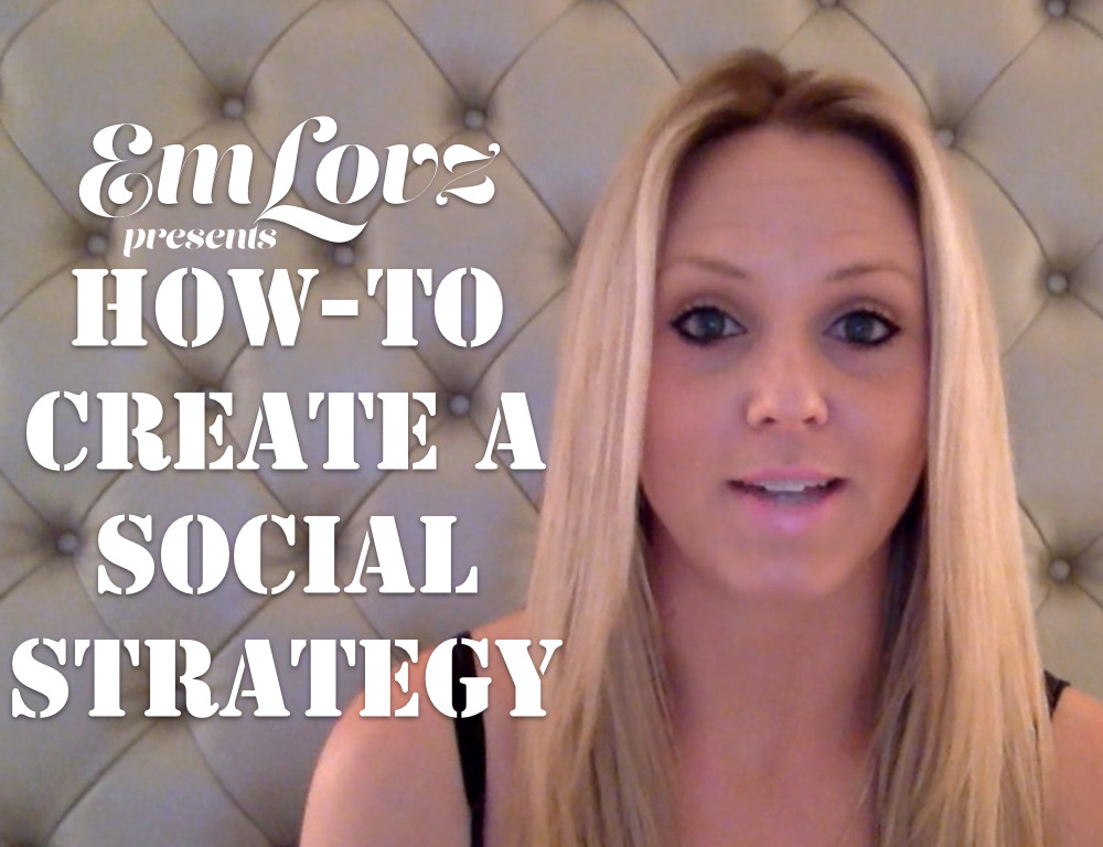 How to Create a Social Strategy