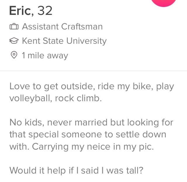 single mom dating profile samples