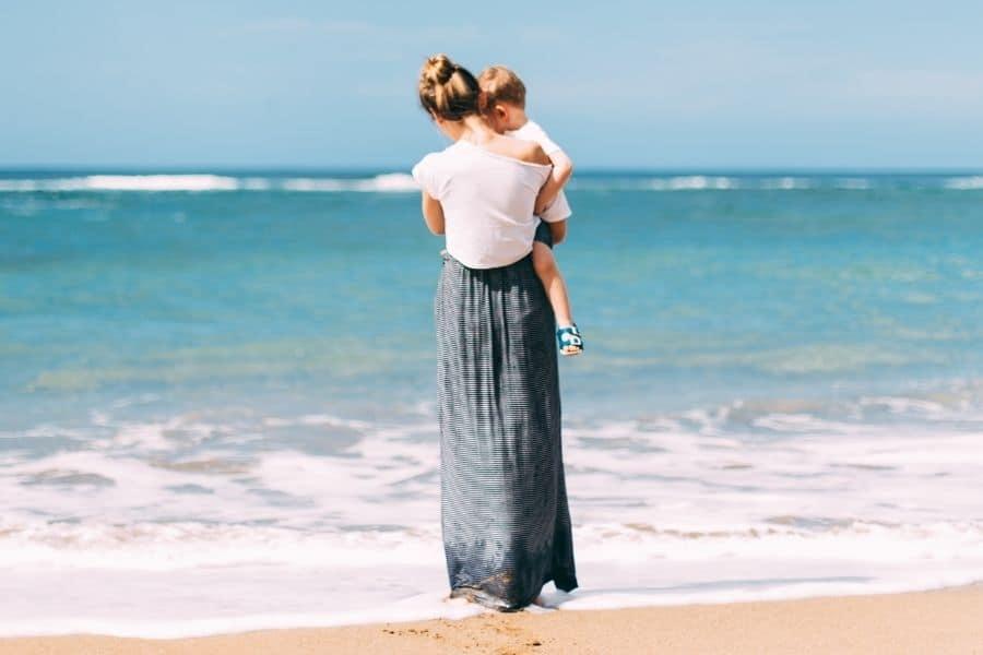 salir con una mujer con niños