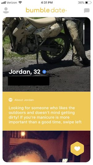 Profiles 45 tinder dirty Dirty Little