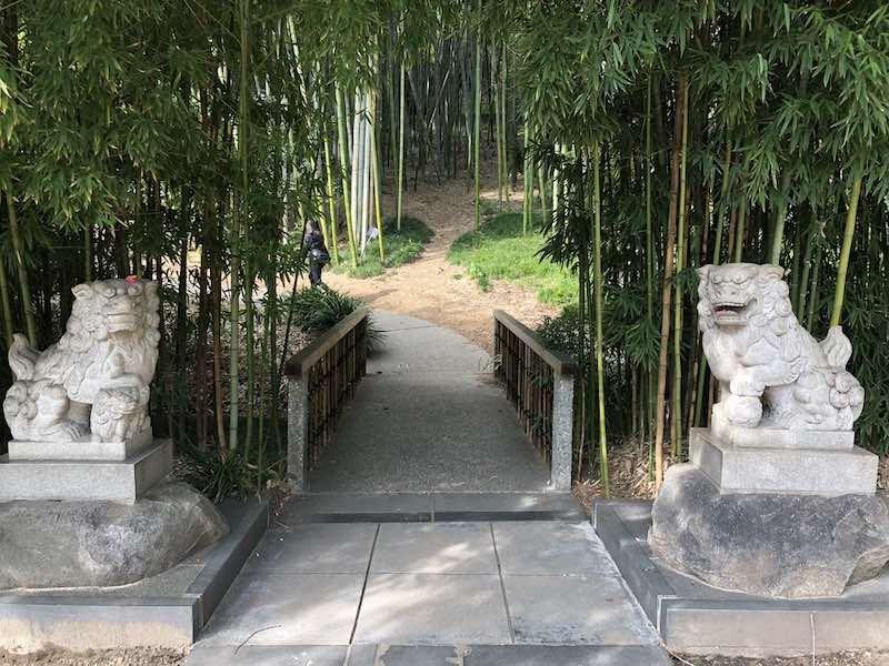 botanical gardens la