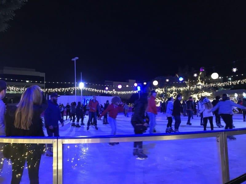 santa monica ice skating