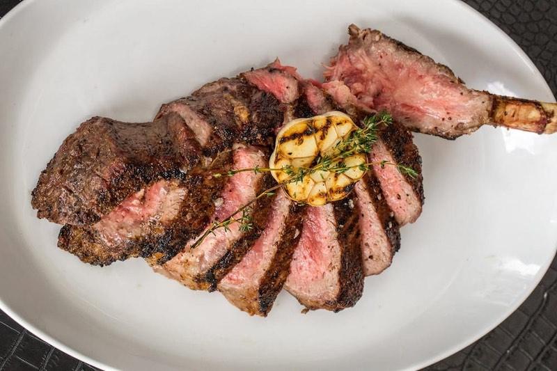 cut up steak stk