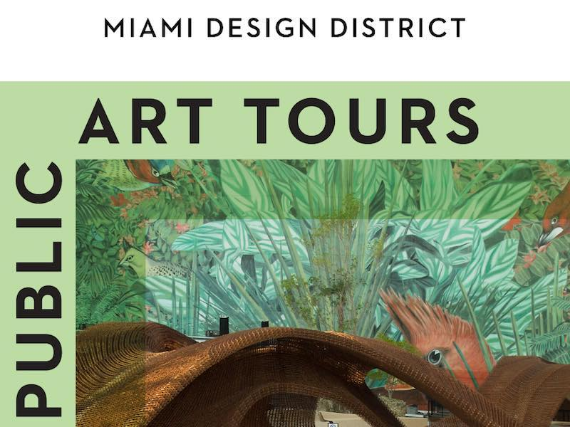 Miami Design District Free Public Art Tours