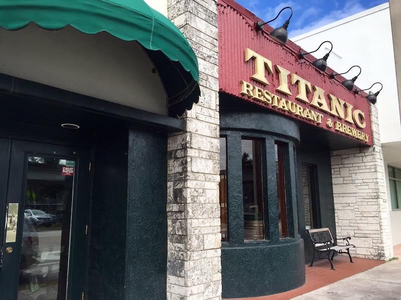 Titanic Brewery Miami