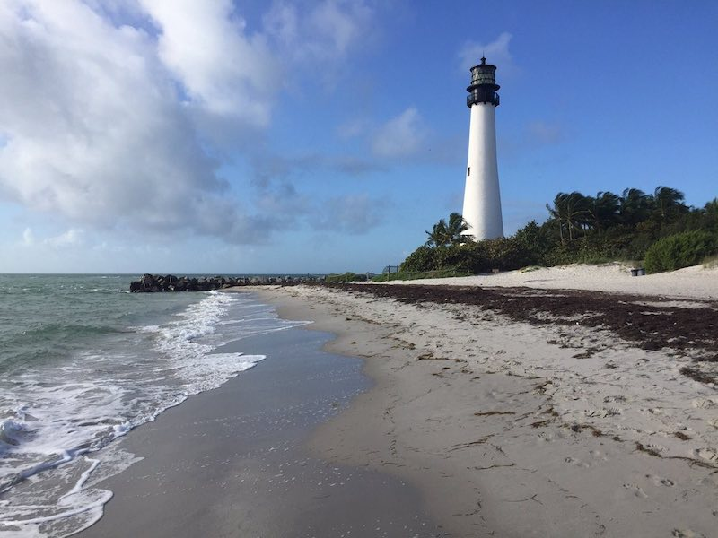 Lighthouse at Key Biscayne in Miami
