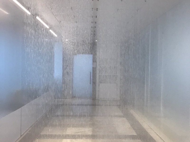 Communal Rain Shower at Lapis Spa Miami