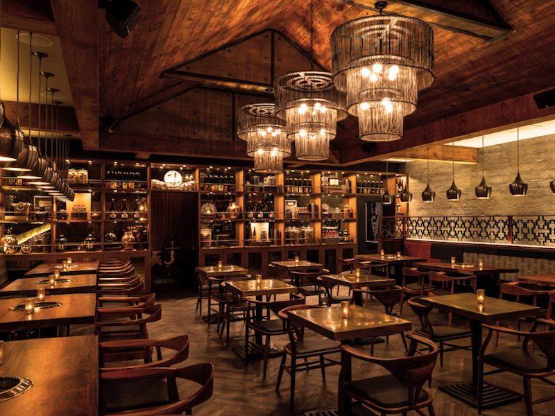 Drunken Dragon Interior - Miami 3rd Date Ideas