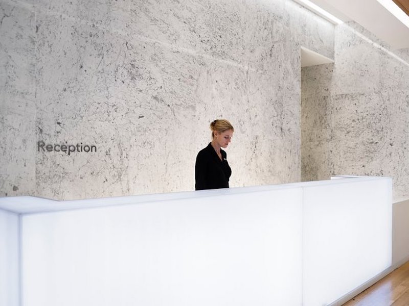 Reception Desk at Lapis Spa