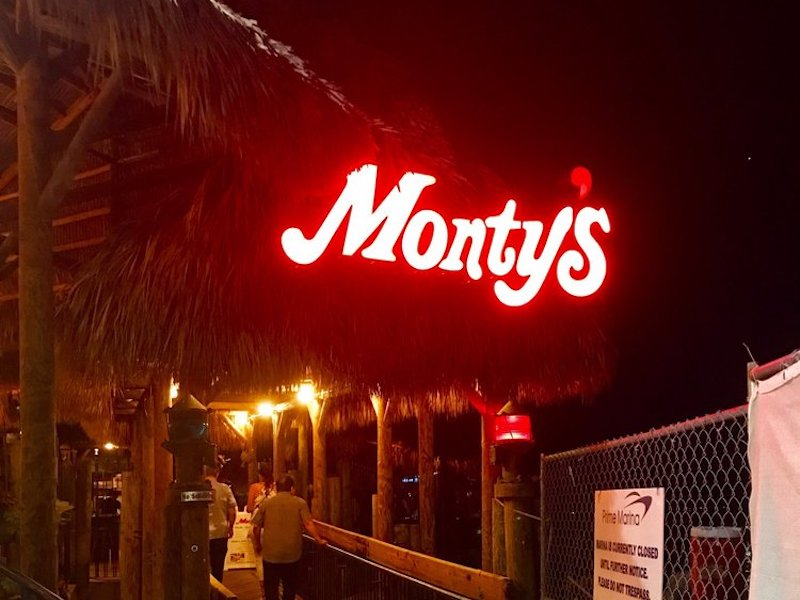 Miami Date Ideas: Monty's Coconut Grove