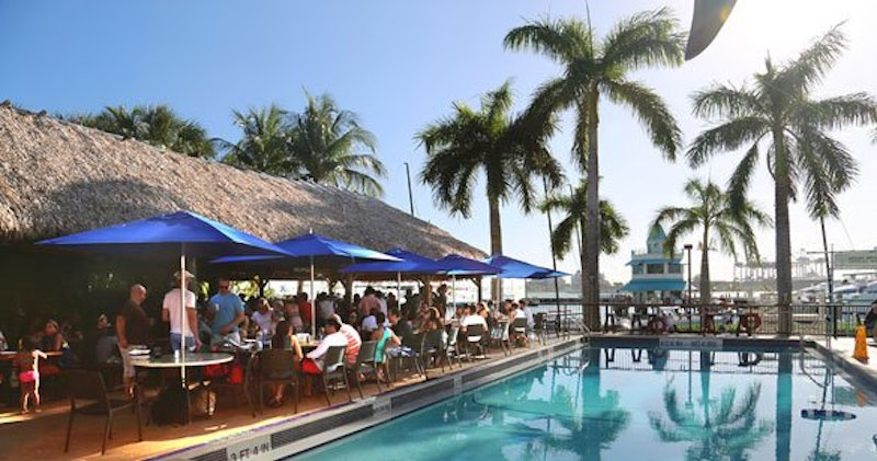 Date Spots Miami: Monty's Sunset