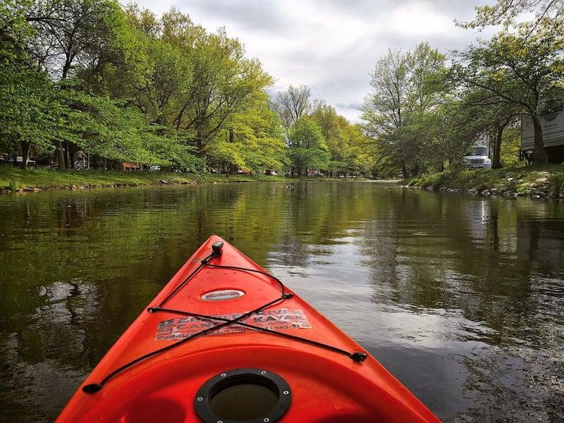 Kayak the Charles River