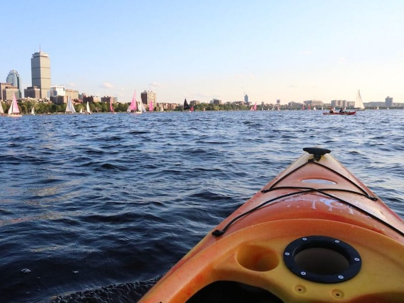 Charles River Boston Date Idea