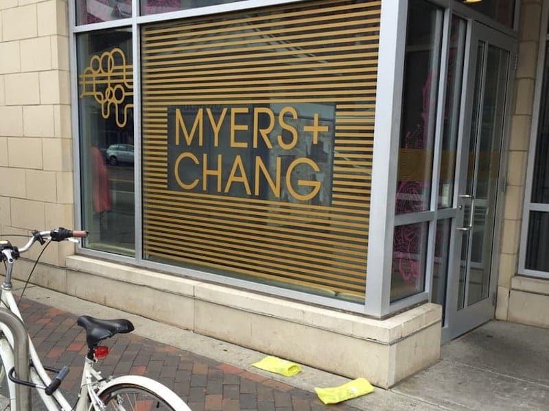 Myers + Chang Boston