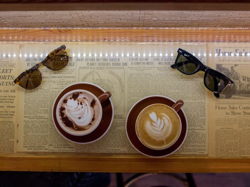 Best coffee shop for a date in Boston