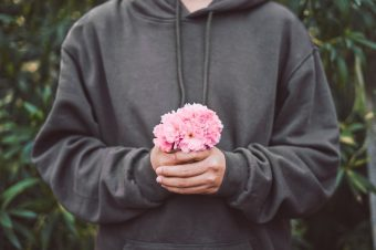 flowers on a first date
